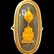 Imaginative Georgian Memorial Ring