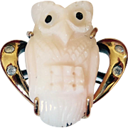 """Hoot Hoot"" Owl on Your Finger"