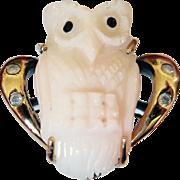 """Hoot Hoot"" Owl on Your Finger"