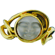 Be Spellbound By A Man-In-The-Moon Ring