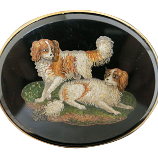 Finest Micro-Mosaic Dog Portrait