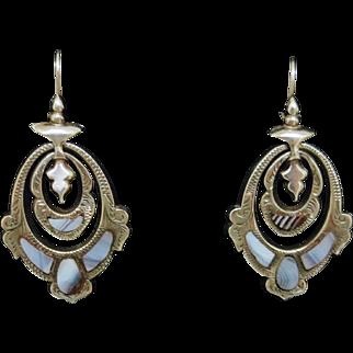 Splendid Victorian Scottish Earrings