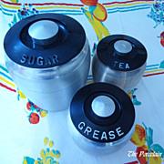 Kromex spun aluminum canisters