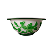 Stunning Peking Glass Bowl
