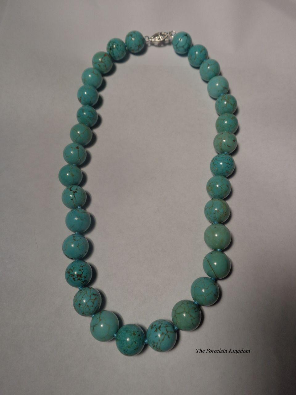 Vintage Bead Necklace 50