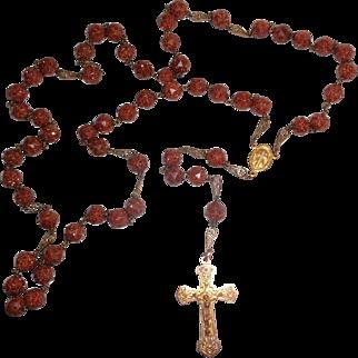 Exceptional Saint Anne de Beaupré Catholic Rosary