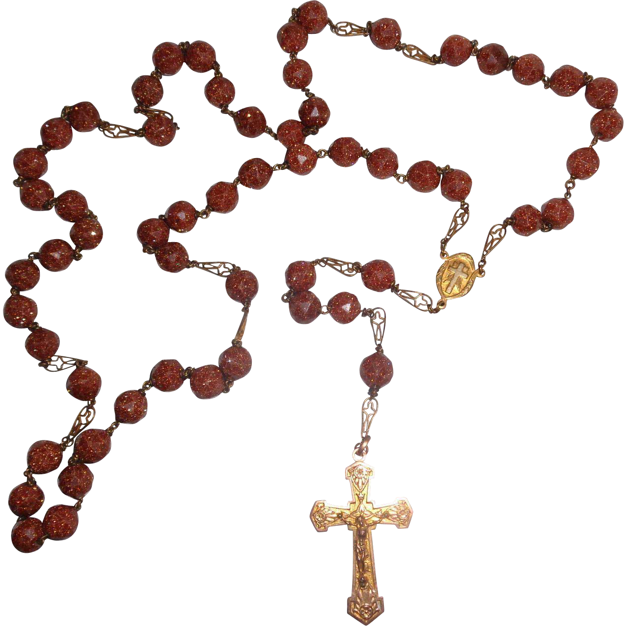 Exceptional Saint Anne de Beaupré Catholic Rosary