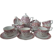 Rare RS Prussia Child or Doll's Complete 23-PC Toy Tea Set