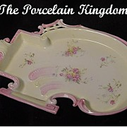 RS Prussia Rare Art Nouveau Dresser Tray Reticulated Mold C.1900 - Red Tag Sale Item