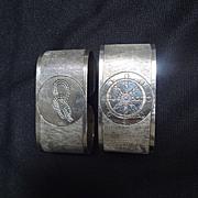 Nautical Napkin rings (pair)
