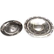 Silver overlay plates
