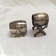 Barrel napkin rings