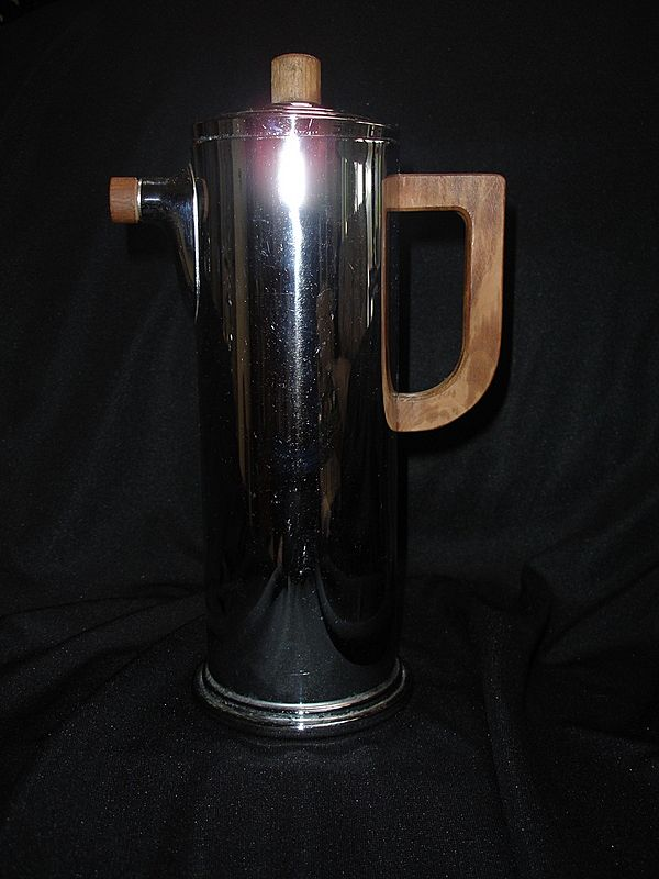 Cocktail Shaker, Chrome ,Art Deco