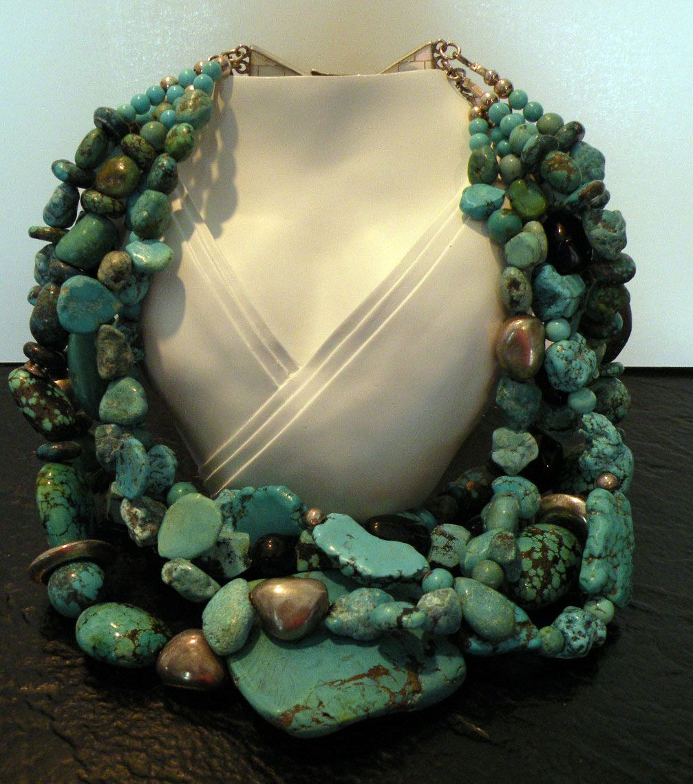 Enormous Turquoise Necklace : Stone Mountain