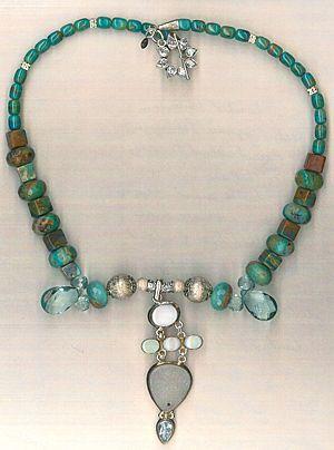 Peruvian Blue Opals : Blue Sky & Drusy