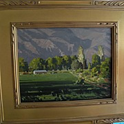 """David Plourde Texas Artist """"Mountain View"""" Colorado"""
