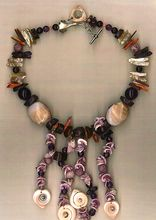 Spiral Shell beads Fossil Coral Amethyst Spiny Oyster : Heart to Heart