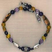 Ammonite & Citrine beads & Shell Beads & pearls : Jamaica