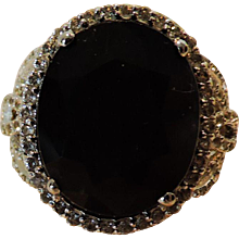Blue Sapphire Lady Diana Ring, GLA Appraisal of $5,430. Magnificent