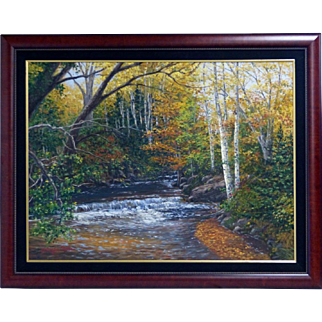 Schaefer/Miles (American, 20th century) $17,500 oil painting on canvas, now $4,500