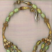Orvil Jack Turquoise beads : Queen Green