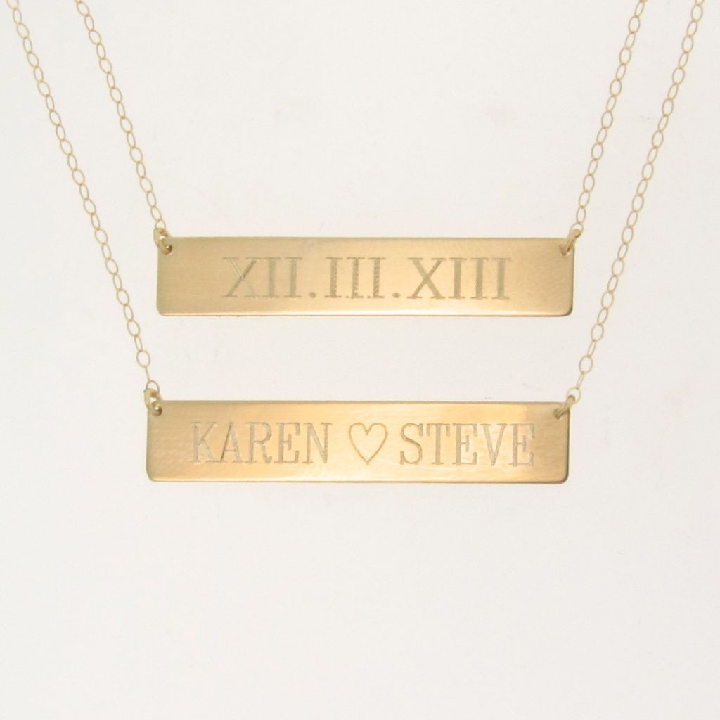 3d gold nameplate necklaces jewelry flatheadlake3on3