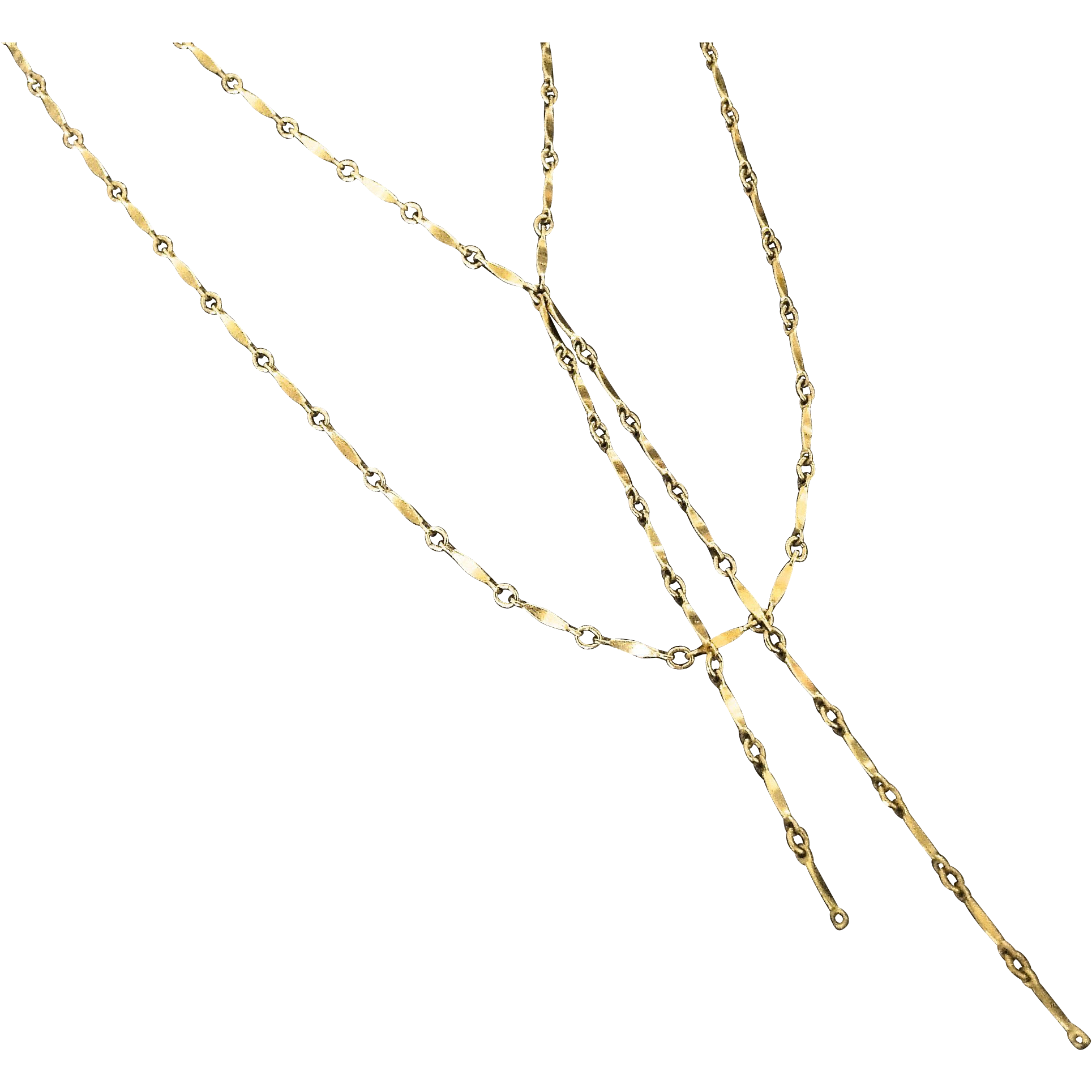 Gold Lariat Necklace, Y Necklace, Tassel Necklace, Double Lariat Necklace as Seen On Cameron Diaz