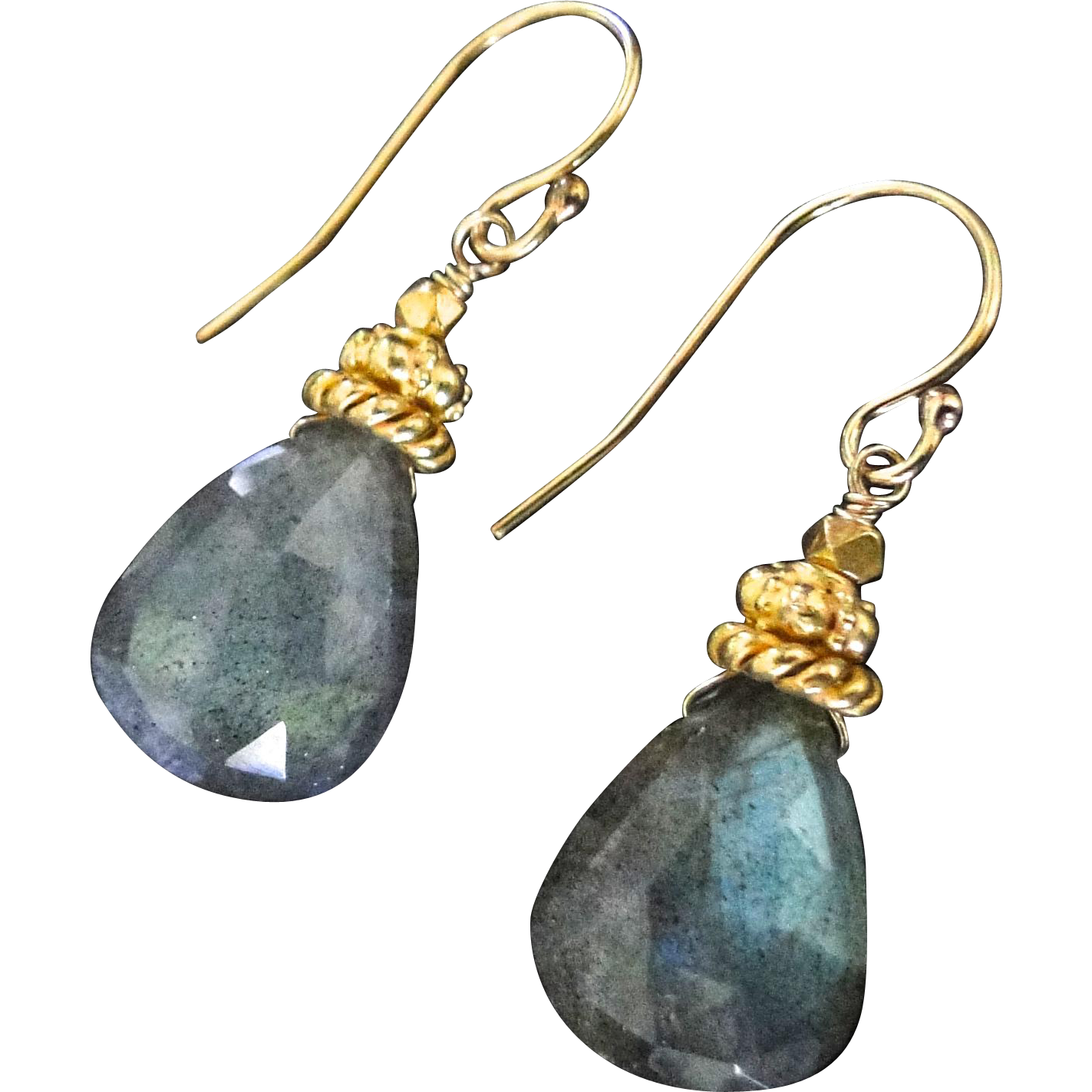 all products labradorite collections filled faceted sterling silver earrings gold disk img stack