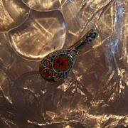 Micro Mini Mosaic Mandolin Italian Book Piece
