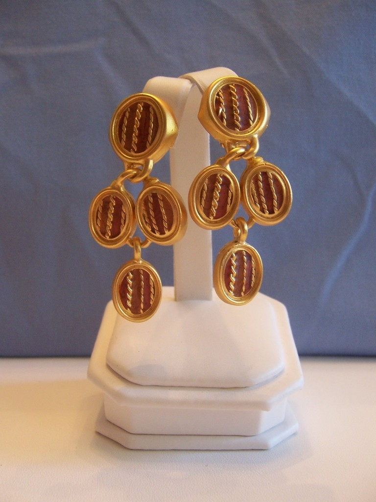 Edgar Berebi Earring Color In Art Earrings