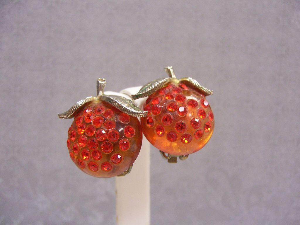 Forbidden Fruit Earrings  The Oranges