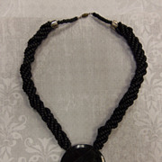 Karla Jordan Necklace Unsigned Granite Slab