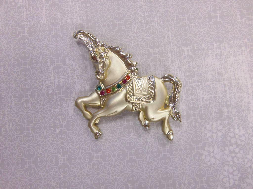 Carousel Horse Pin AJC