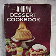 1964 1st Edition Ladies Home Journal Dessert Cookbook