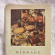 Middage 1948 Danish Cookbook