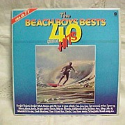 Vintage Beach Boys Bests 40 Greatest Hits 2 Record Set Holland