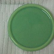 Gladding McBean Green Trivet