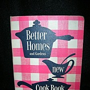 Better Homes and Gardens New Cook Book 1953 Five Ring