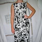 Vintage Hawaiian Wiggle Dress by Tori Richards