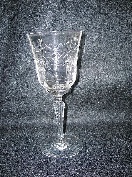 Fostoria Glass Co. Doncaster Etched Water Goblet