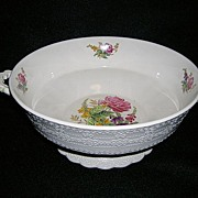 Spode Jewel Heath and Rose Open Vegetable Bowl