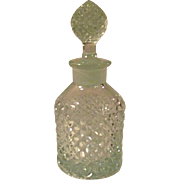 WESTMORELAND English Hobnail Light Ice Blue Perfume Cologne Bottle