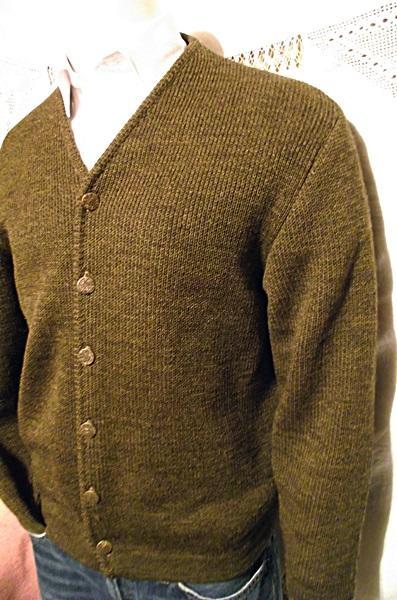 Mens Brown Sweater