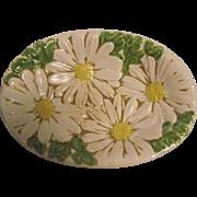 RARE Vintage Metlox Poppytrail Sculptured Daisy Soap Dish