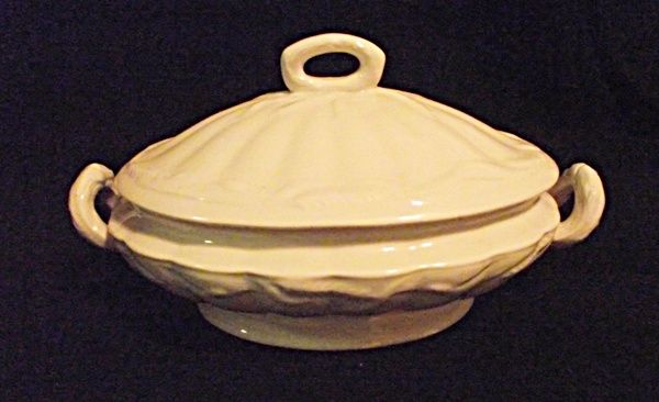 Antique S W Dean Ltd Burslem England Wheat Covered Vegetable Tureen
