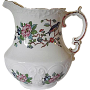 NICE Aynsley Bone China England Pembroke Pitcher Gold Trim