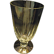 "Heisey Crystolite 6-3/8"" Iced Tea 12 Ounce Goblet Stemware Glass More Available"