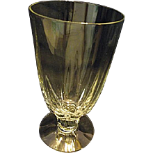 """Heisey Crystolite 6-3/8"""" Iced Tea 12 Ounce Goblet Stemware Glass More Available"""