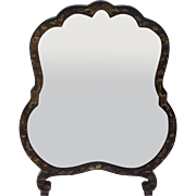 Vintage English Chinoiserie Table Mirror