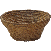 Rye Coiled Basket